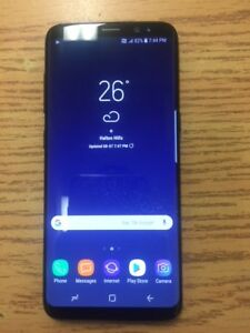 Unlocked black Samsung S8 64gb****FIRM PRICE****
