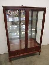 C6006 Lovely Mahogany Queen Anne China Display Cabinet French Sty Unley Unley Area Preview