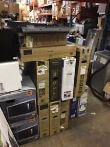 Broken and AS-IS TVs for parts - Total 25 TVs