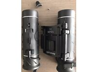 AccuBuddy Binoculars - 12x Zoom Wide View Mini HD Telescope with adjustable Focus - for parts