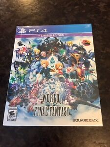 New PS4 World Of Final Fantasy - LIMITED EDITION -