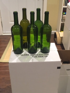Wine Bottles - Clean and in boxes