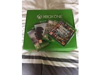 Xbox One 500gb Console, 2 Wireless Controllers + 4 Games!
