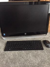 HP Pavillion 23 inch screen.... All-In-One PC Very rarely used and back to factory settings
