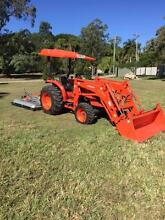 2X 2015 Kubota MX5100 Hydrostatic tractors Alderley Brisbane North West Preview