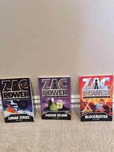 Zac Power books set of 3 Halls Head Mandurah Area Preview
