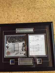 SPORTS MEMORABILIA HOCKEY - Toronto Maple Leaf Darryl Sittler