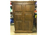 Vintage Oak wardrobe, unique size and a really nice piece of furniture
