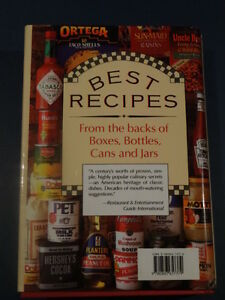 Best Recipes from the Backs of Boxes, Bottles, Cans and Jars Kitchener / Waterloo Kitchener Area image 2