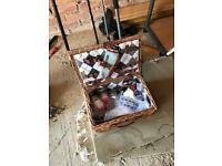 2 off Sea Fishing Rods plus box of floats and hooks and spinners as shown