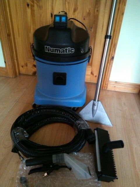Numatic Valet Machine Carpet Upholstery Cleaner Car Wash Hoover