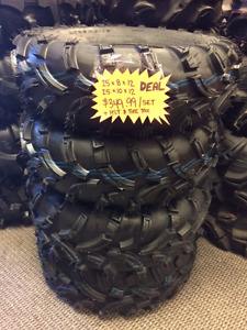 "KIMPEX 25"" TRAIL FIGHTER TIRE PKG -4 TIRES $349.99"