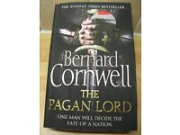 Bernard Cornwell The Pagan Lord (Free post UK)