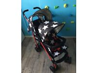 Cosatto Double Shuffle Tandem Pushchair/stroller Range All Star With Accessories