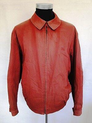 Burberry London Jacke Blouson Sommerjacke Rot Unifarben Gr. 50