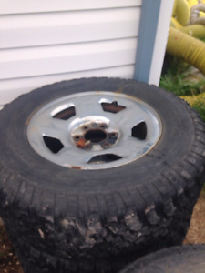 2 sets if tires and rims