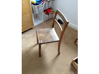 2 Childrens School Chairs suitable for desk or nursery play table