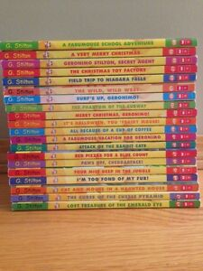 """Geronimo Stilton"" Elisabetta Dami (complete 20-book collection)"