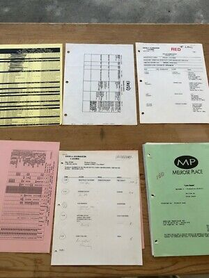 MELROSE PLACE - DIRECTORS SCRIPT - PRODUCTION NOTES -  CASTING