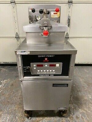 2018 Henny Penny 600c Natural Gas Pressure Fryer W Filtration Works Great