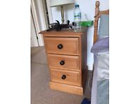 Pine Bedsied Cabinet