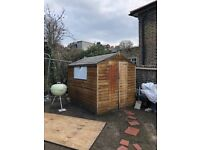Apex garden shed - 8x6 - SE London - dismantled, pickup only, £75