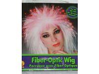 Fancy dress wig. Fiber Optic Wig for clubbing, music parties etc.