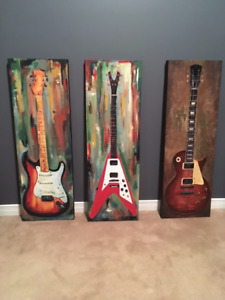 3 canvas wall decor