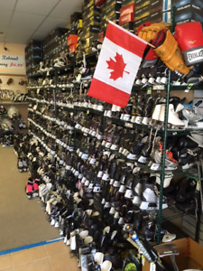New &used skates and Hockey Equipment!!! @ Rebound!!!