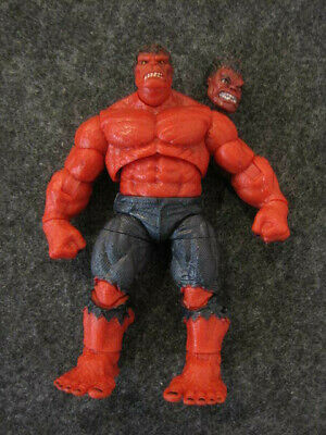 "Marvel Legends Universe 3.75"" loose Red Hulk action figure Hasbro"