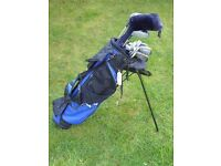 Set of GolfMaster golf clubs and bag (selling on behalf of local Cub Scouts)
