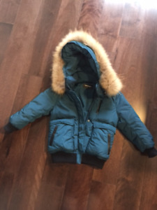 Mackage Jacket size 4T for kid at $180.00