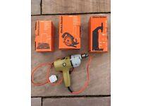 Black & Decker 2 Speed Hammer Drill with Attatchments.