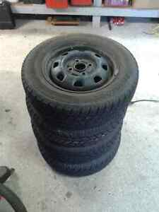"13"" Hankook I-Pike Winter Tires"