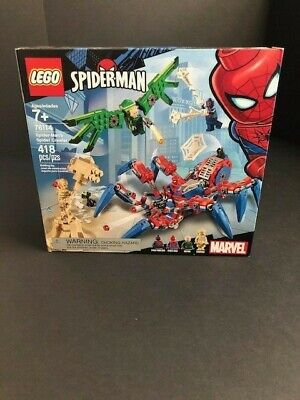 LEGO Marvel Spider-Man's Spider Crawler 76114 ~ New In Box ~ Free Shipping