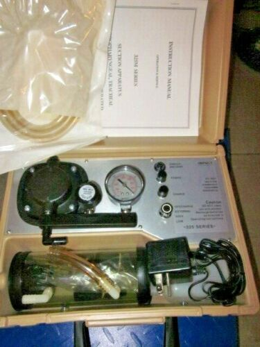NEW in BOX IMPACT 325 325M Portable Suction Pump Oropharyngeal Tracheal Type 1