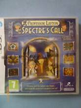 Nintendo DS Professor Layton and the Spectre's Call Merewether Newcastle Area Preview