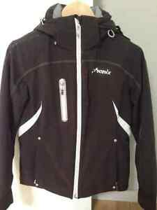 Women's Phenix Black Ski Jacket