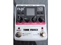 NUX Timeforce multi function delay pedal ***AS NEW***