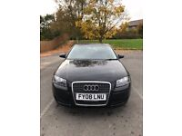 Audi A3 2.0 TDI SE Sportback 3dr Automatic 2008 (with Car Stereo Nav; All 4 brand new tyres)