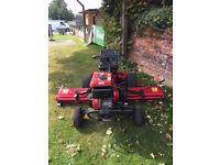 Baroness Saxon LM180B Triple Ride-On Lawnmower