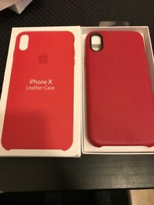 IPHONE X & Xs LEATHER CASES