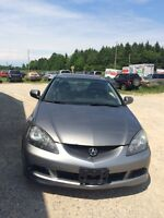 2006 Acura Rsx 5speed Manual, Leather Seats Certified $3,995+Tax