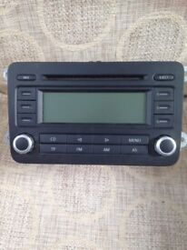 VW RCD 300 Stereo Radio/CD Player(WITH CODE)