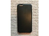 iPhone 6 Apple Leather Case (black)