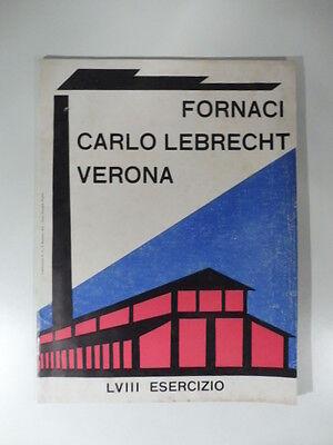 Fornaci. Carlo Lebrecht, Verona. Catalogo
