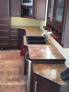 Kitchen Countertops Corian Edge