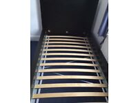 Ikea Malm (Black) single bed. Very good condition