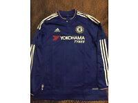 Chelsea Home Shirt Long Sleeve 2015-16 size L