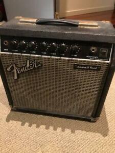Fender SIDEKICK 15 REVERB Guitar Combo Amp